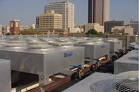 Roof Dry Coolers for data center applications